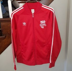 Adidas Wisconsin Badgers M Track Jacket